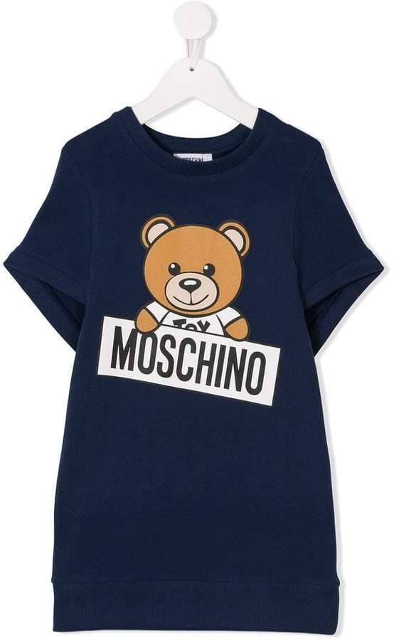 4d6f79b66 Kids teddy bear logo T-shirt #Moschino#evident#kidswear | Girls ...