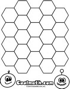 Coloring Page Tessellations Hexagons 1 Gif With Images
