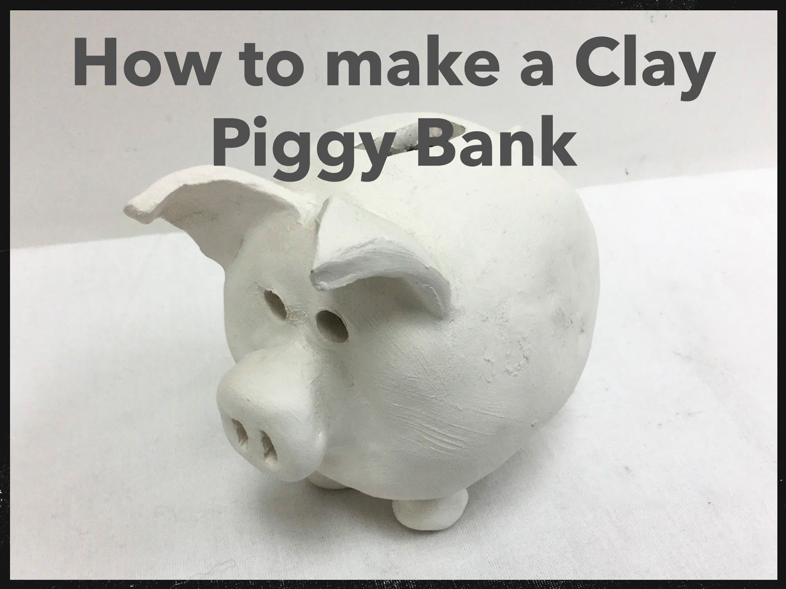 Image Result For Clay Piggy Bank