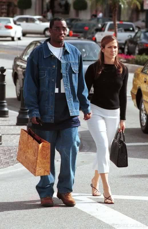 Jennifer Lopez and Puff Daddy | Jennifer Lopez Puff Daddy & Jennifer Lopez 2000