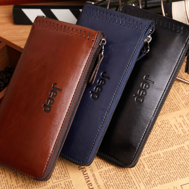 Special Prices New fashion brand men wallet genuine leather famous ...