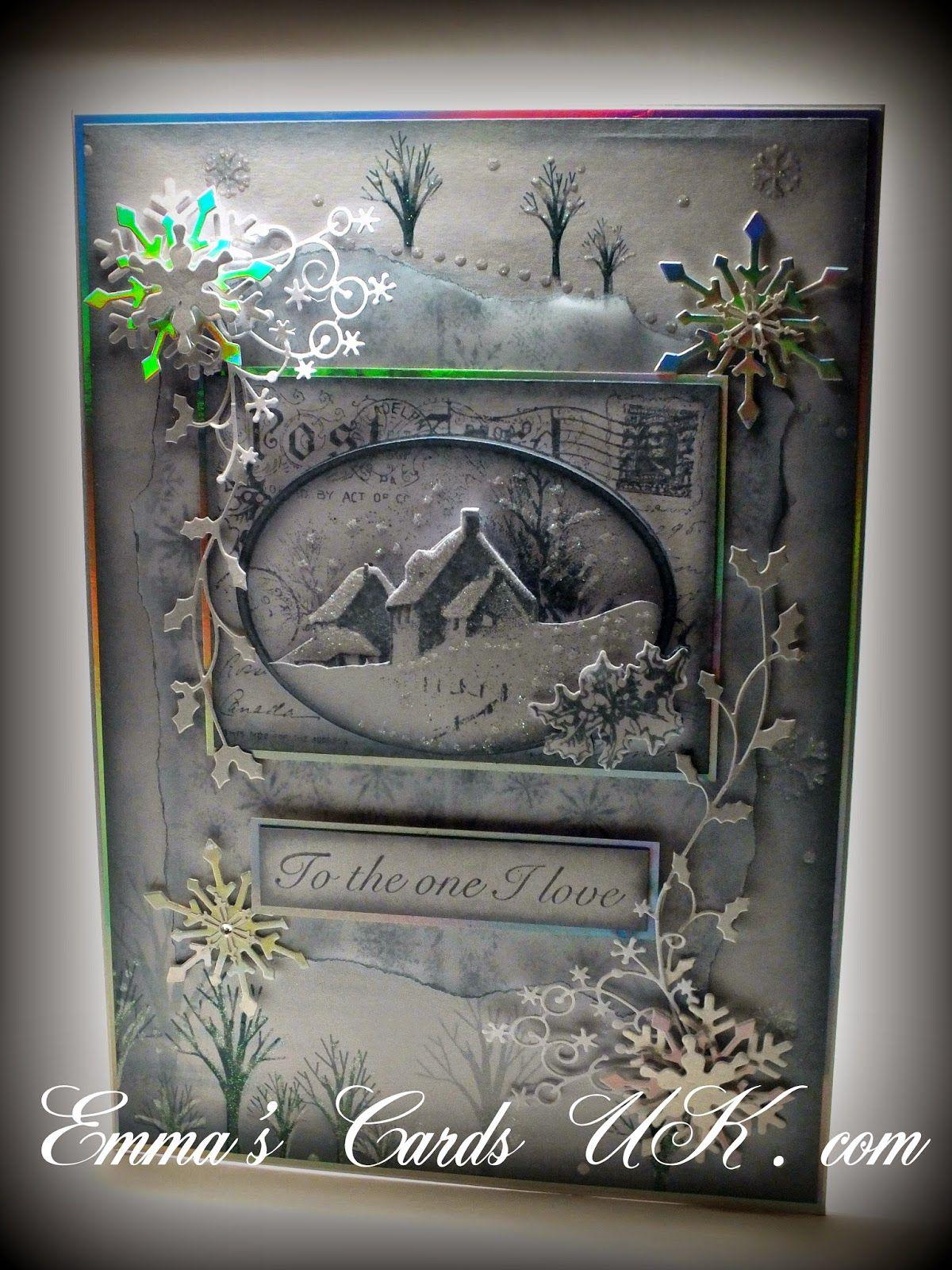 Hunkydory Christmas 2012 … Christmas cards, Christmas