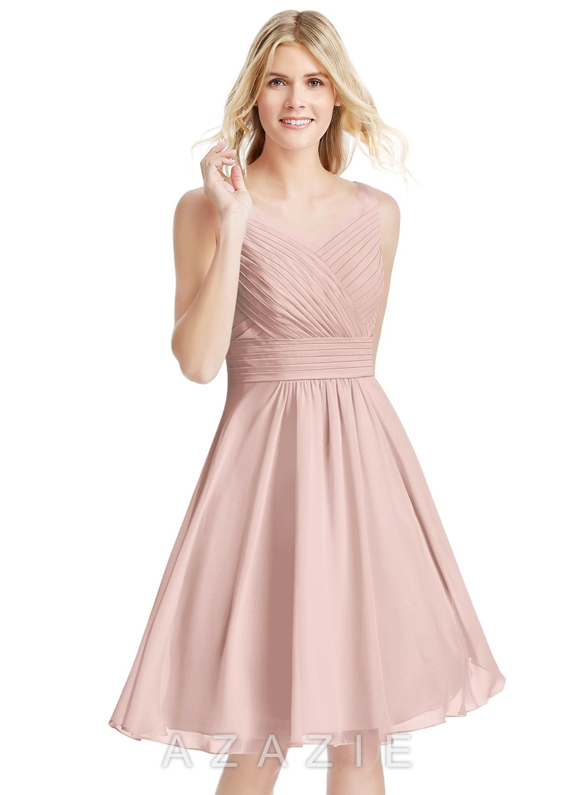 54523cb99c4 Shop Azazie Bridesmaid Dress - Grace in Chiffon. Find the perfect made-to-