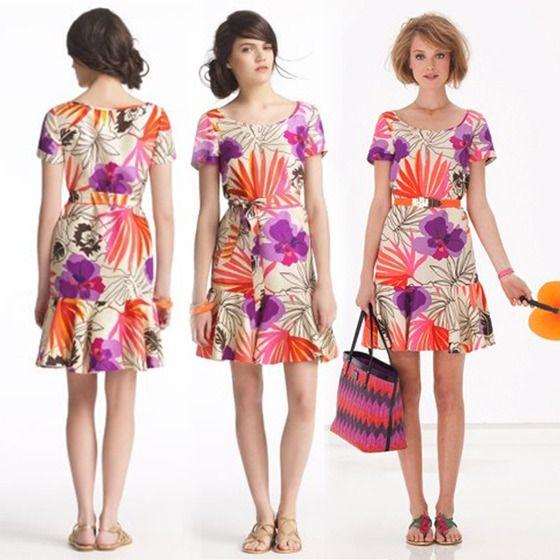 Copious: KATE SPADE new york 2012 Elliana floral-print Silk dress - Svpply
