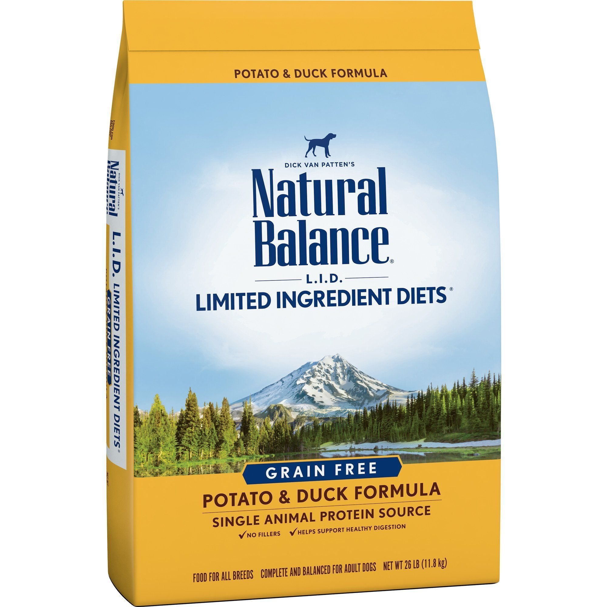 Natural Balance Limited Ingredient Dry Dog Food Potato Duck