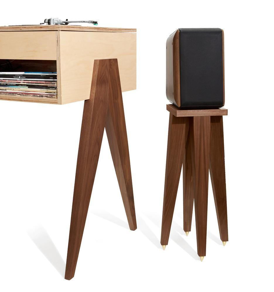 The Dj Stand Dj Stand Wooden Speaker Stands Speaker Stands