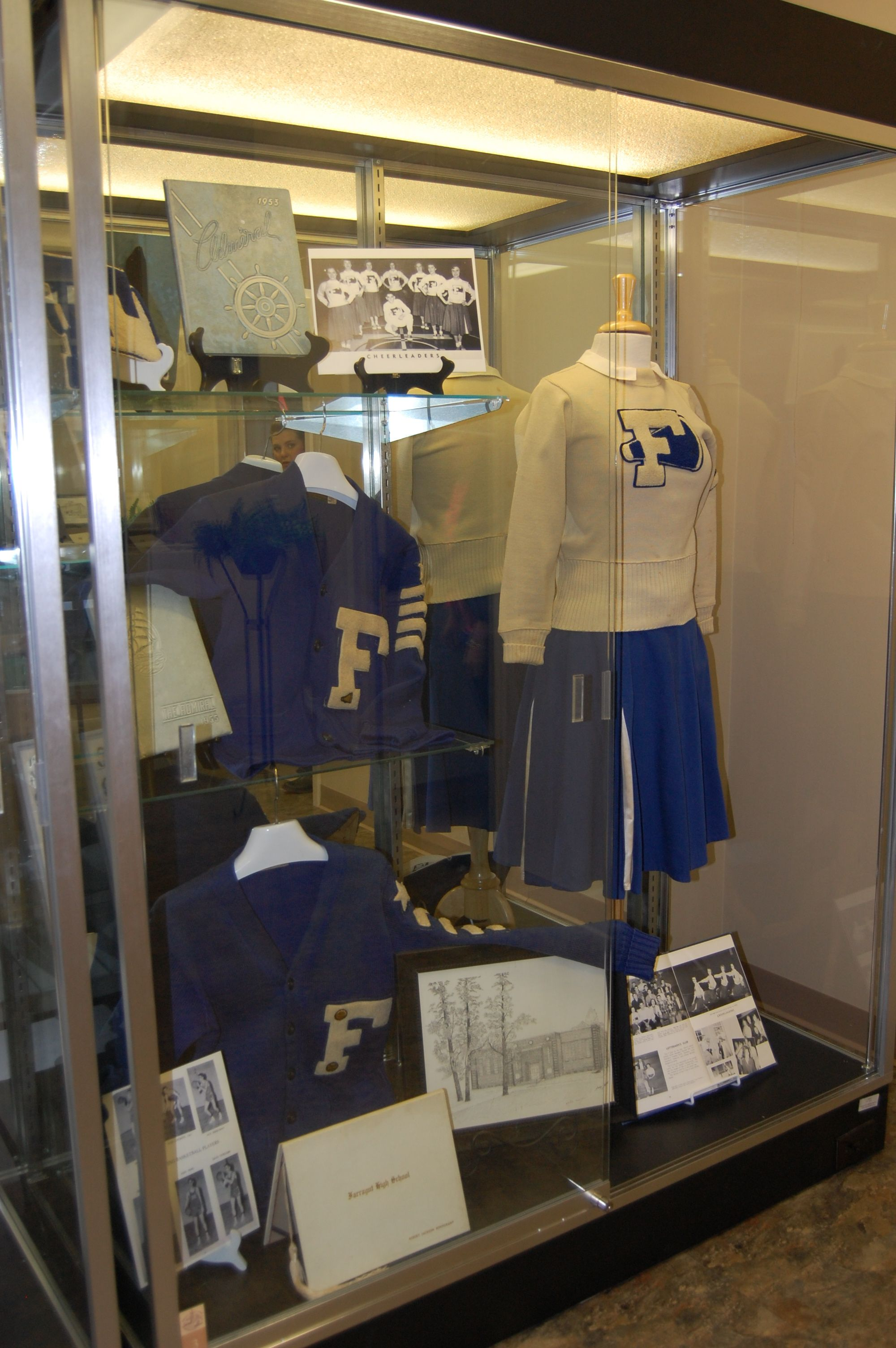 The Museum hosted a special exhibit featuring memorabilia from the Farragut schools from January to May 2013.