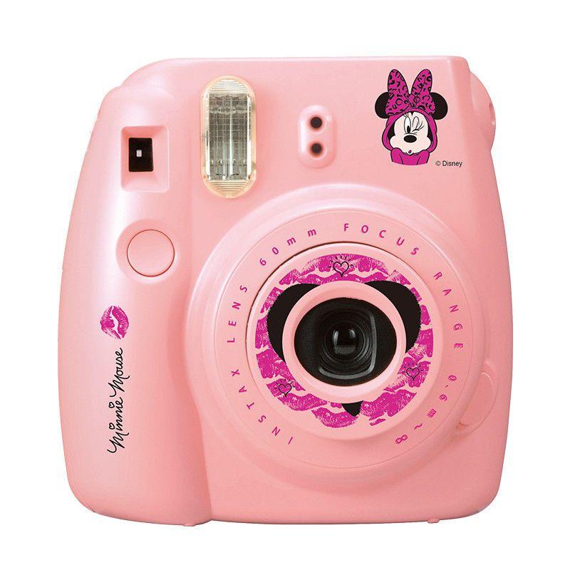 Minnie Mouse Fujifilm Fuji Instax Mini 8 Instant Photos Films Polaroid Camera Fujifilm Instax Mini Instax Camera Fuji Instax Mini