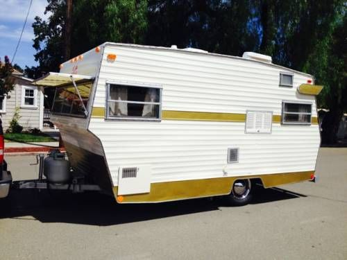 1972 Shasta Starflyte 17' $6800 - Looks very similar in size
