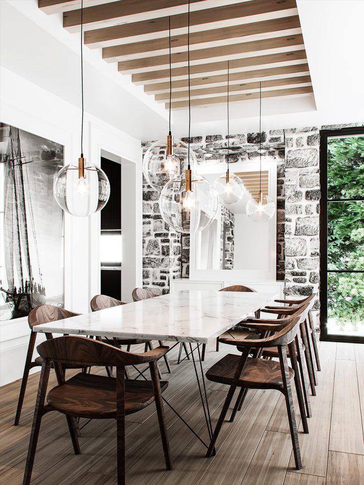 Salle à manger : 16 idées pour l'aménager