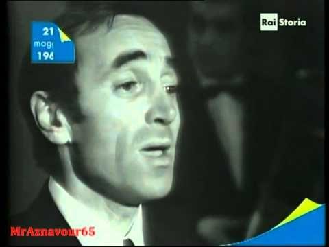 Charles Aznavour chante Io tra di voi  - 1967
