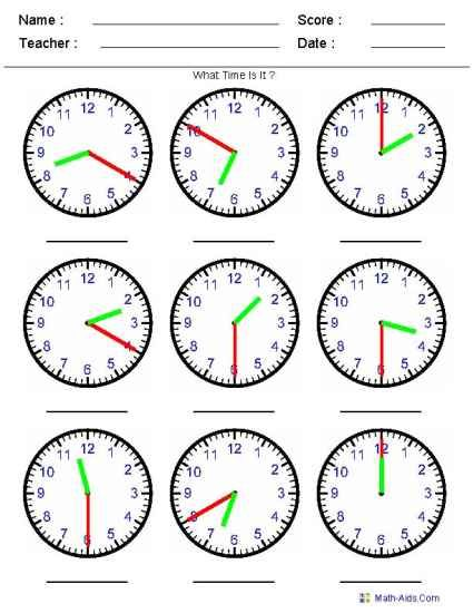 Free elapsed time worksheets for 2nd grade
