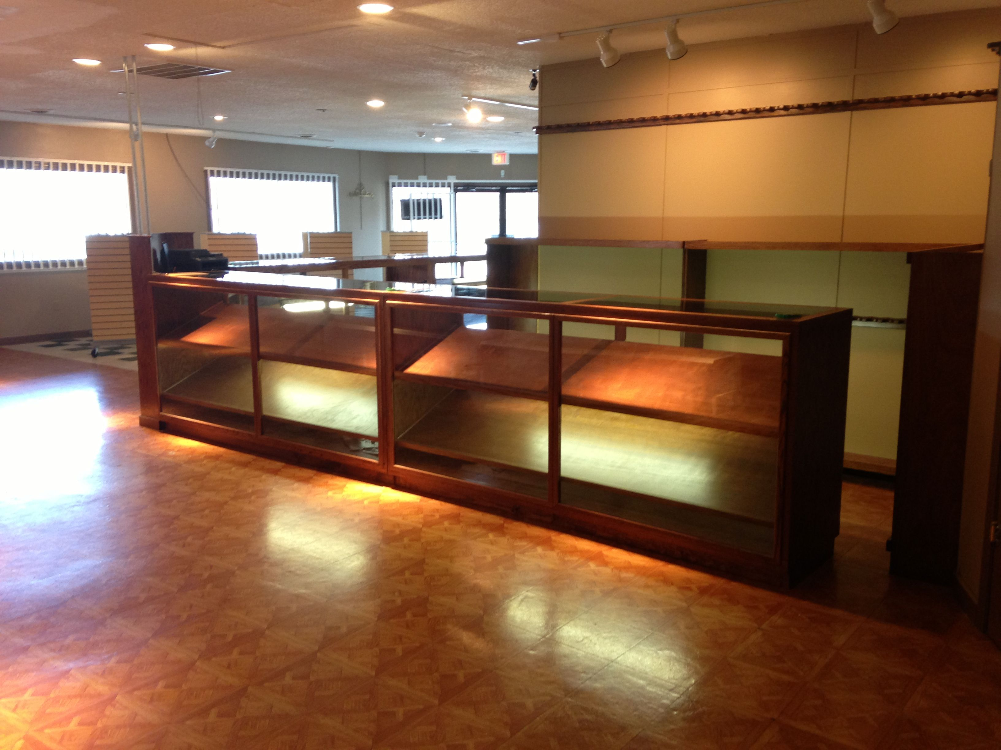 Commercial Gun Display Cases And Racks By Owens Cabinet