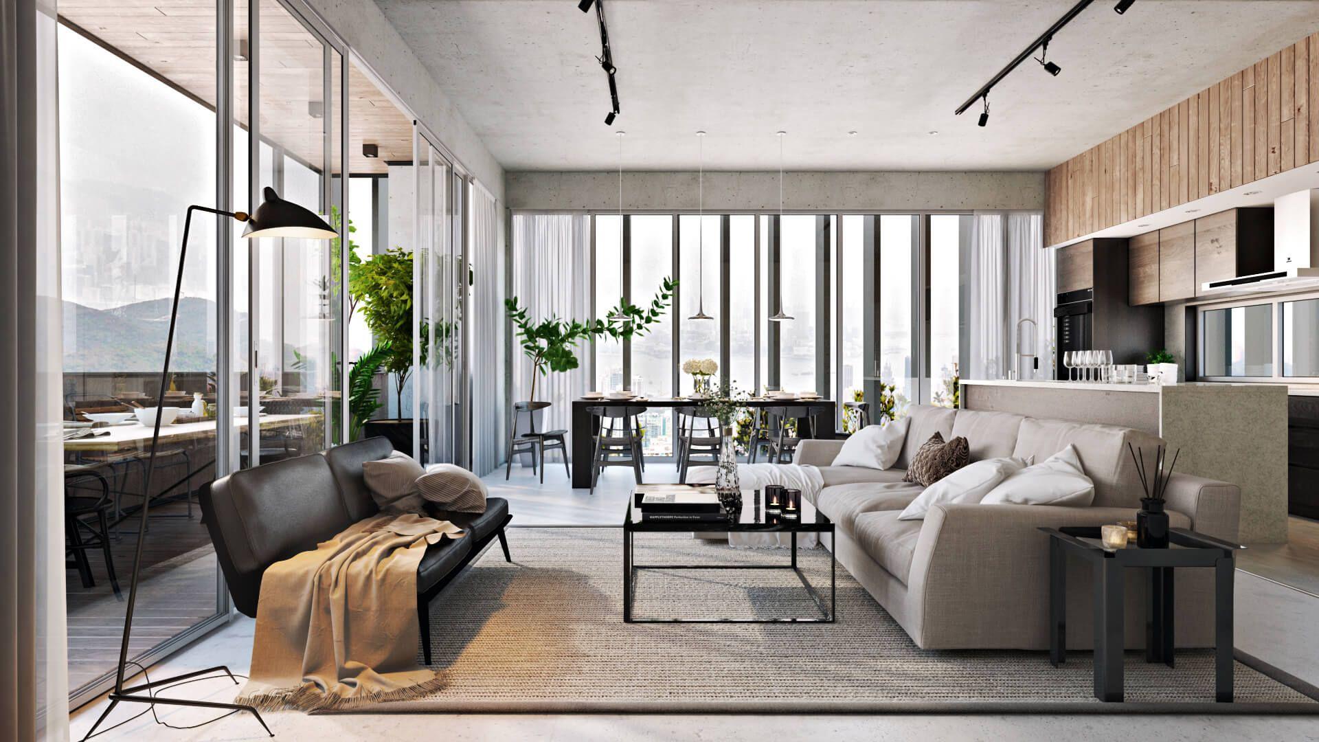 3d Visualization Portfolio For Architectural And Interior Design