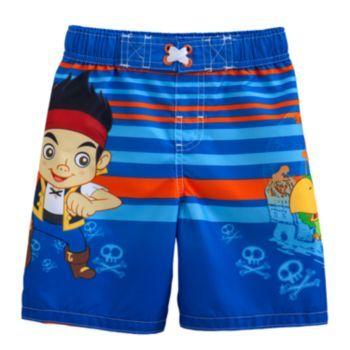 64ffd60bb633a Disney Jake & the Never Land Pirates Swim Trunks - Toddler ...