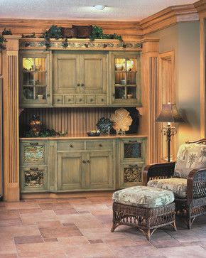Tuscany Style Kitchen And Dining Rooms
