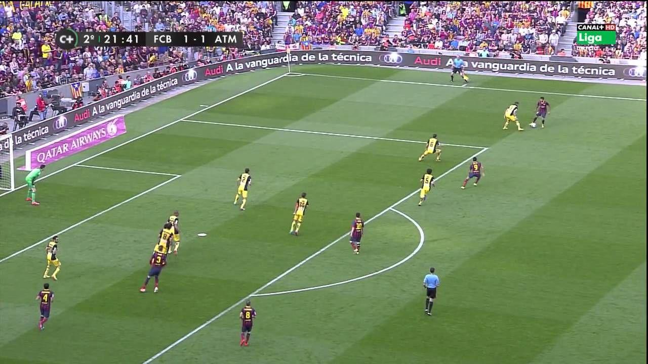 La Liga 17 05 2014 FC Barcelona vs Atlético de Madrid - HD - Full Match ...