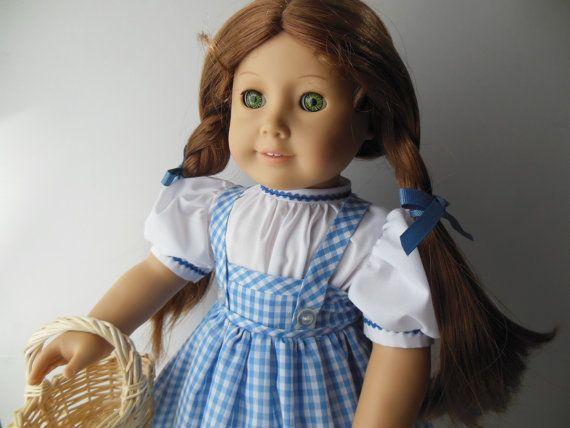 Dorothy from The Wizard of Oz costume for by NancysBigIdeas