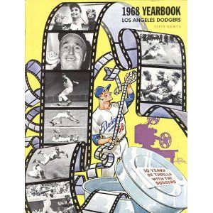 1968 Dodger Yearbook With Images Los Angeles Dodgers Dodgers Baseball Dodgers