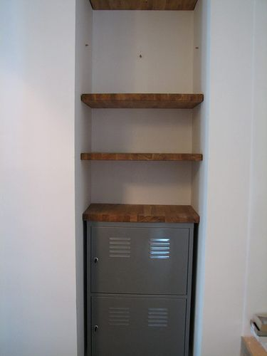 Floating Shelves In The Closet Stylish Bathroom Shelves Top