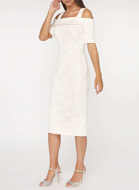 c1fcf3a53 Tall Ivory Lace Pencil Dress | KIYAFET | Pencil dress, Dresses ...