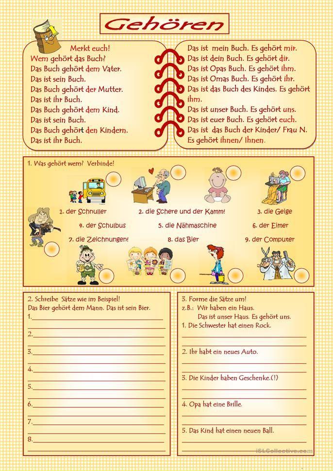 Pin by Vera Souza on Deutch teaching | Pinterest | German language ...