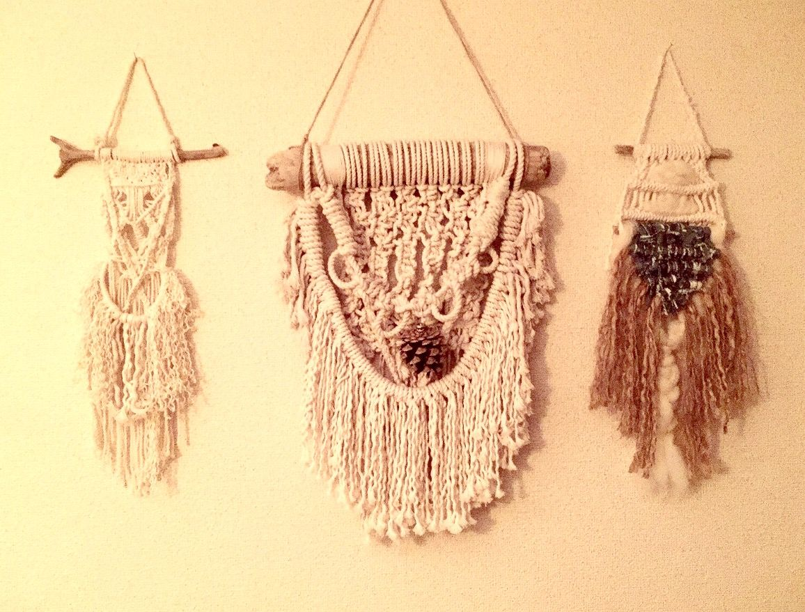 Delighted Macrame Wall Decor Step By Step Tutorial Photos - The ...