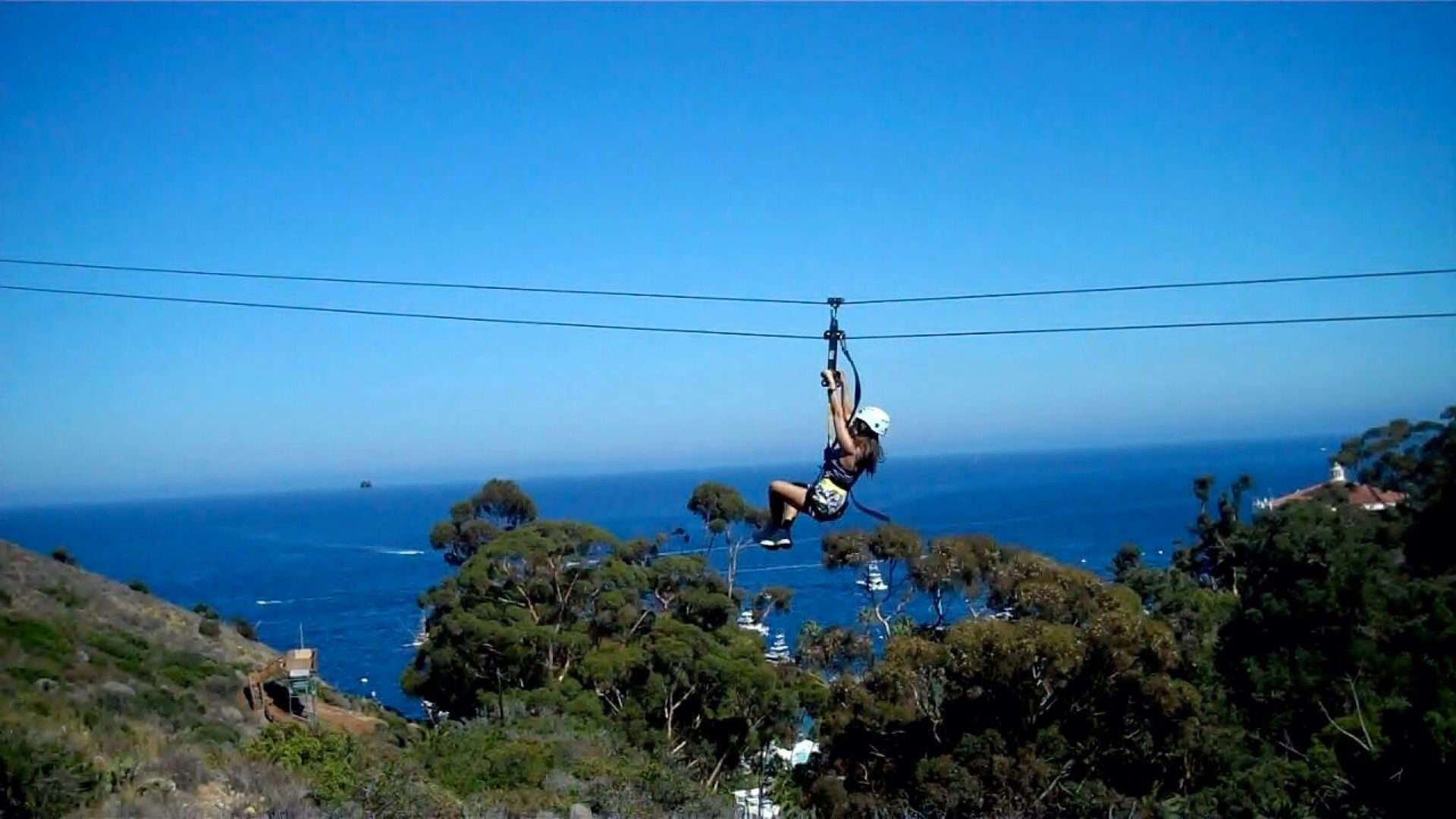 Catalina Island Usa Zip Lining In Catalina Catalina Island Natural Landmarks Ziplining