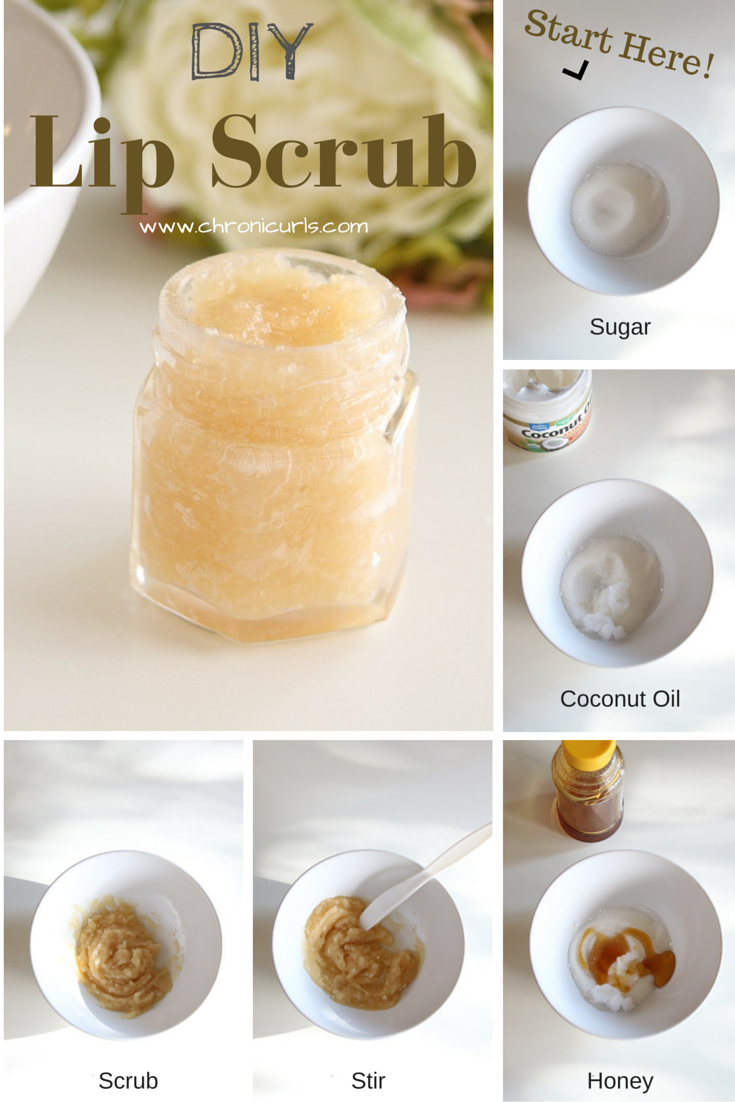 Chronicurls Diy Lip Scrub Lip Scrub Recipe Diy Lips Lip Scrub Diy