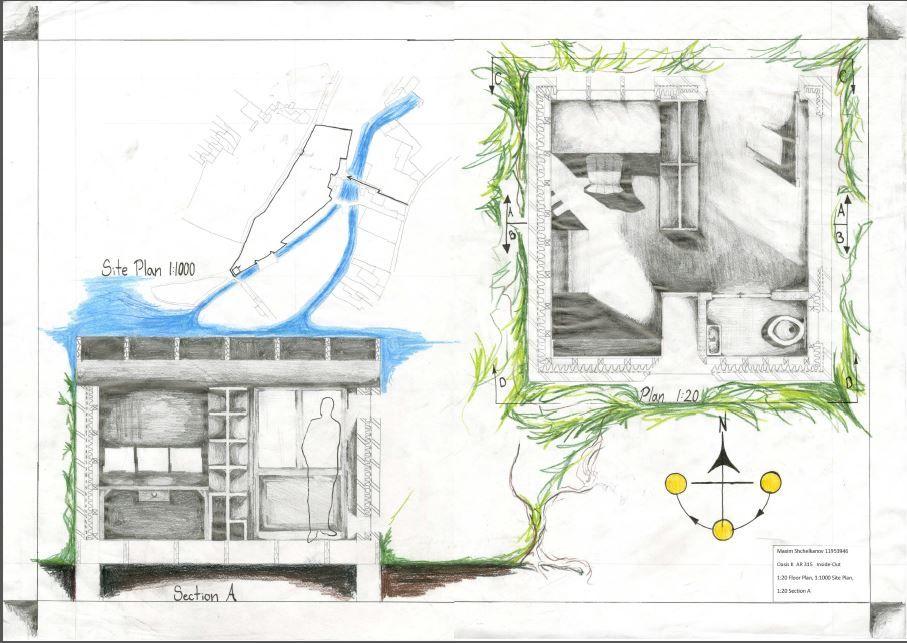 Max Shchelkanov-Project Presentation, Plan, and Section דתיה - project presentation