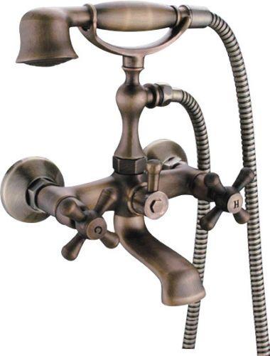 Sanlingo-Badewanne-Armatur-Nostalgie-Retro-Vintage-Kreuzgriff - badezimmer jona