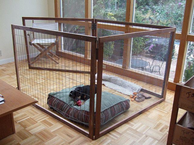 Image is loading Large-Dog-Pet-Playpen-Indoor-Outdoor-Play-Pen-