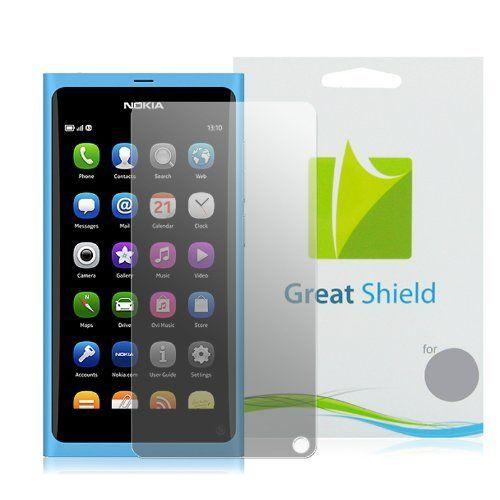 GreatShield Ultra Anti-Glare (Matte) Clear Protector Pantalla para Nokia N9 (3 Pack) B005GR18LM - http://www.comprartabletas.es/greatshield-ultra-anti-glare-matte-clear-protector-pantalla-para-nokia-n9-3-pack-b005gr18lm.html