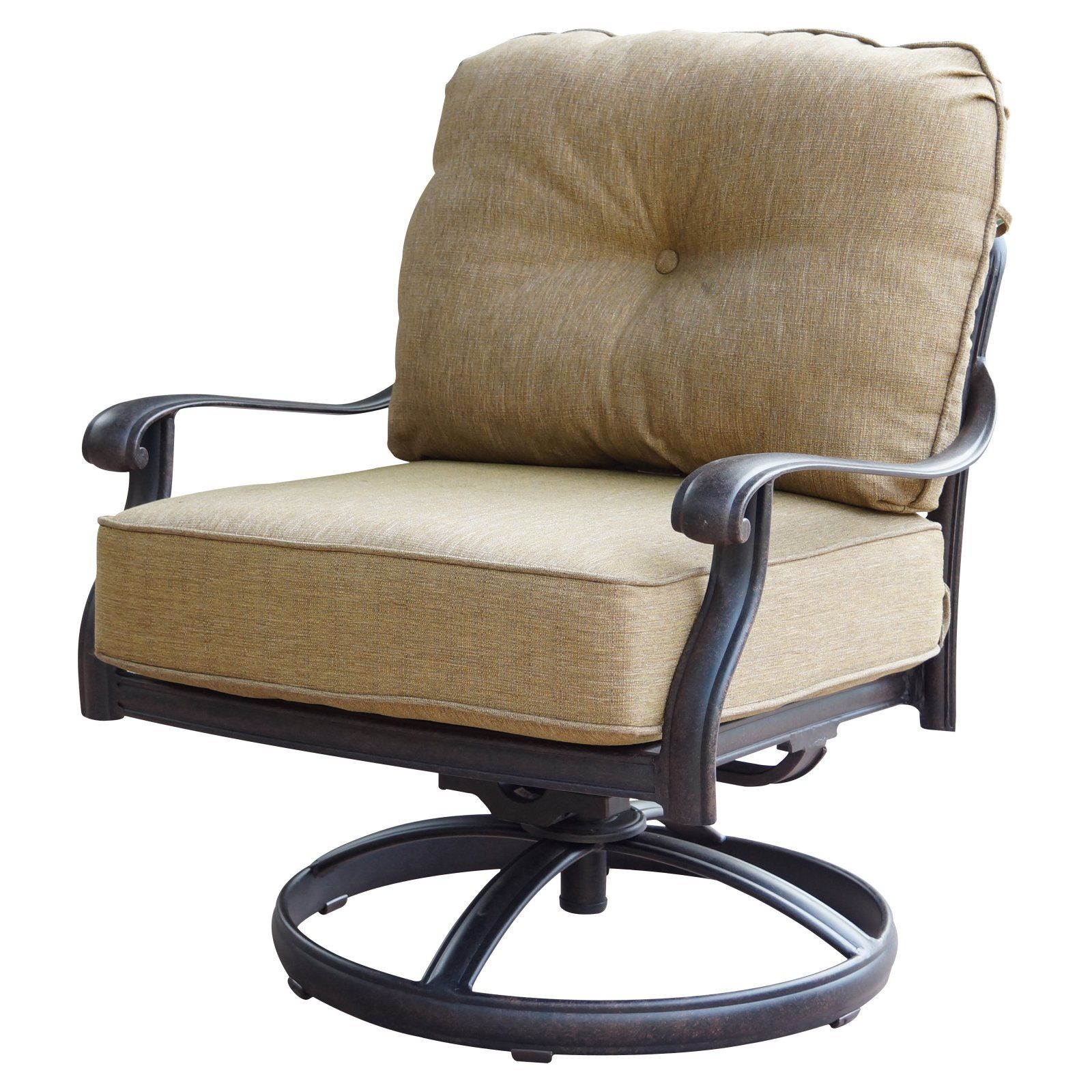 Outdoor Darlee Elisabeth Swivel Rocker Patio Club Chair Set Of 2
