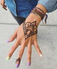 Henné Facile A Faire diy: on se fait un tattoo au henné nous-mêmes ! | henna | henna