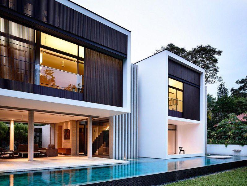 Agrandissement et modernisation du0027une maison très contemporaine à