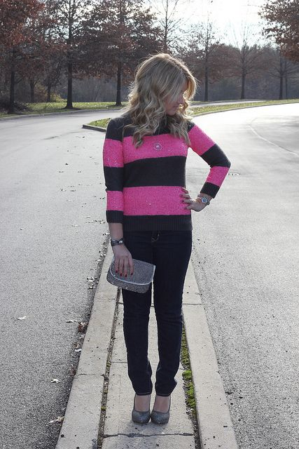 J Crew sequin sweater, so perfect for the holidays!  Click through to see more!
