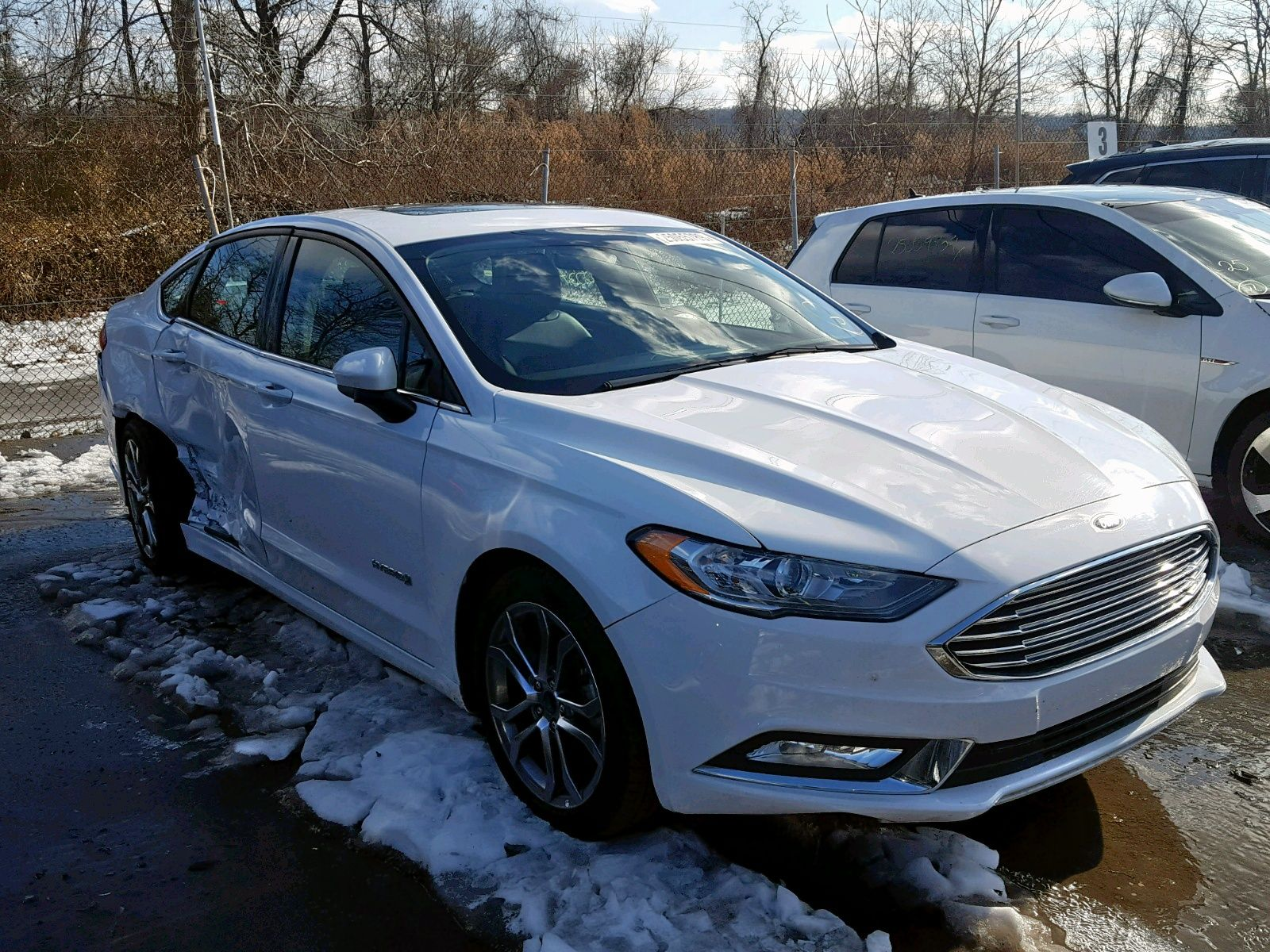 Salvage 2017 Ford Fusion Se Hy Auto week Vehicles, Car