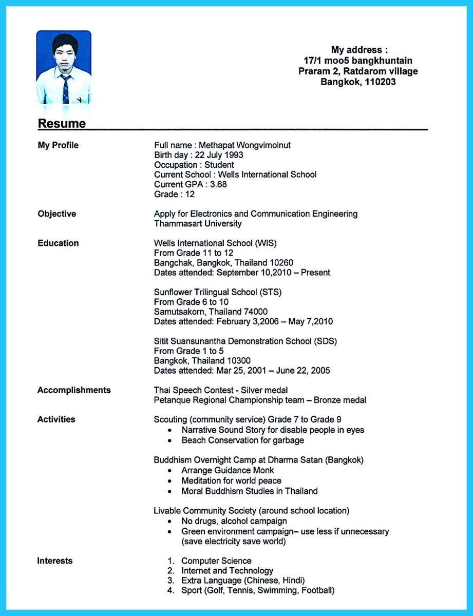 Format My Resume Free