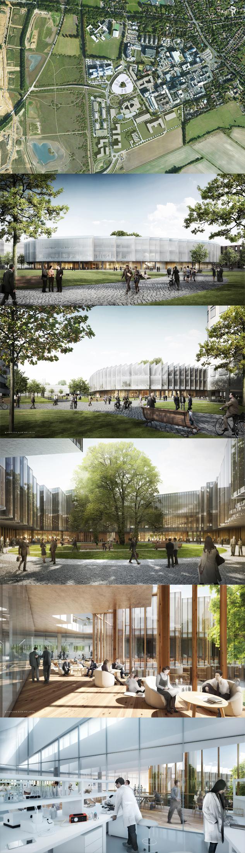 Global R D Centre And Corporate Headquarters Design For Astrazeneca Unveiled Cambridge Uk
