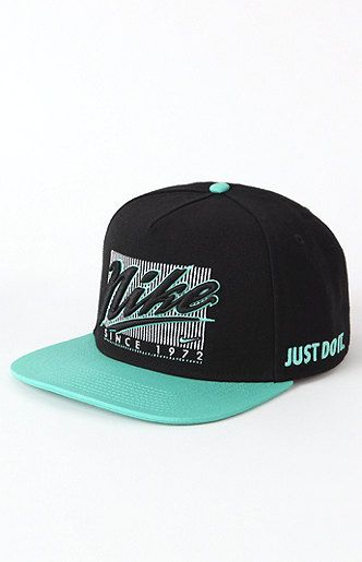 b005dee6bb90 Nike Snapback Hat   Hats   Snapback hats, Flat bill hats, Dope hats