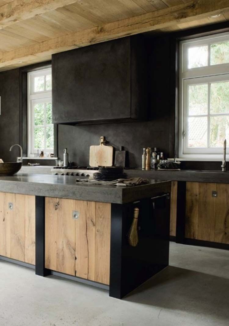 43 dramatic black kitchens that make a bold statement for Manual de cocinas integrales
