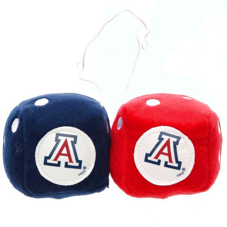 Arizona Wildcats Fuzzy Dice - $4.79