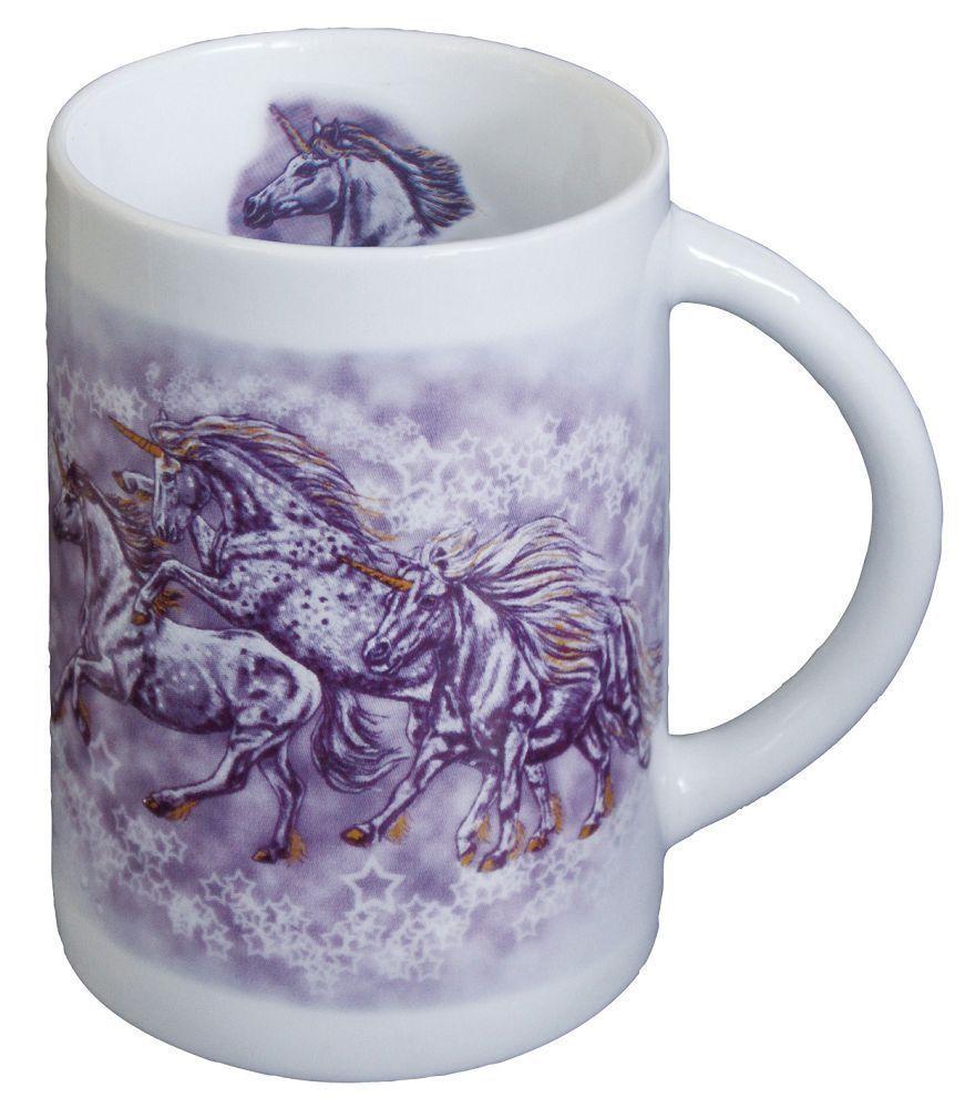 Designer-Keramikbecher mit Pferdemotiv Sternen-Ponies, ©Christina Bötzel