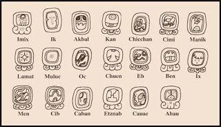 • Tzolkin: el hecho de que la vida del hombre maya estuviera predestinado por la fecha de su nacimiento, del día del tzolkin al que correspondía, hacía de este calendario de 260 días el más utilizado. Es el más usado por todos los pueblos del mundo maya.