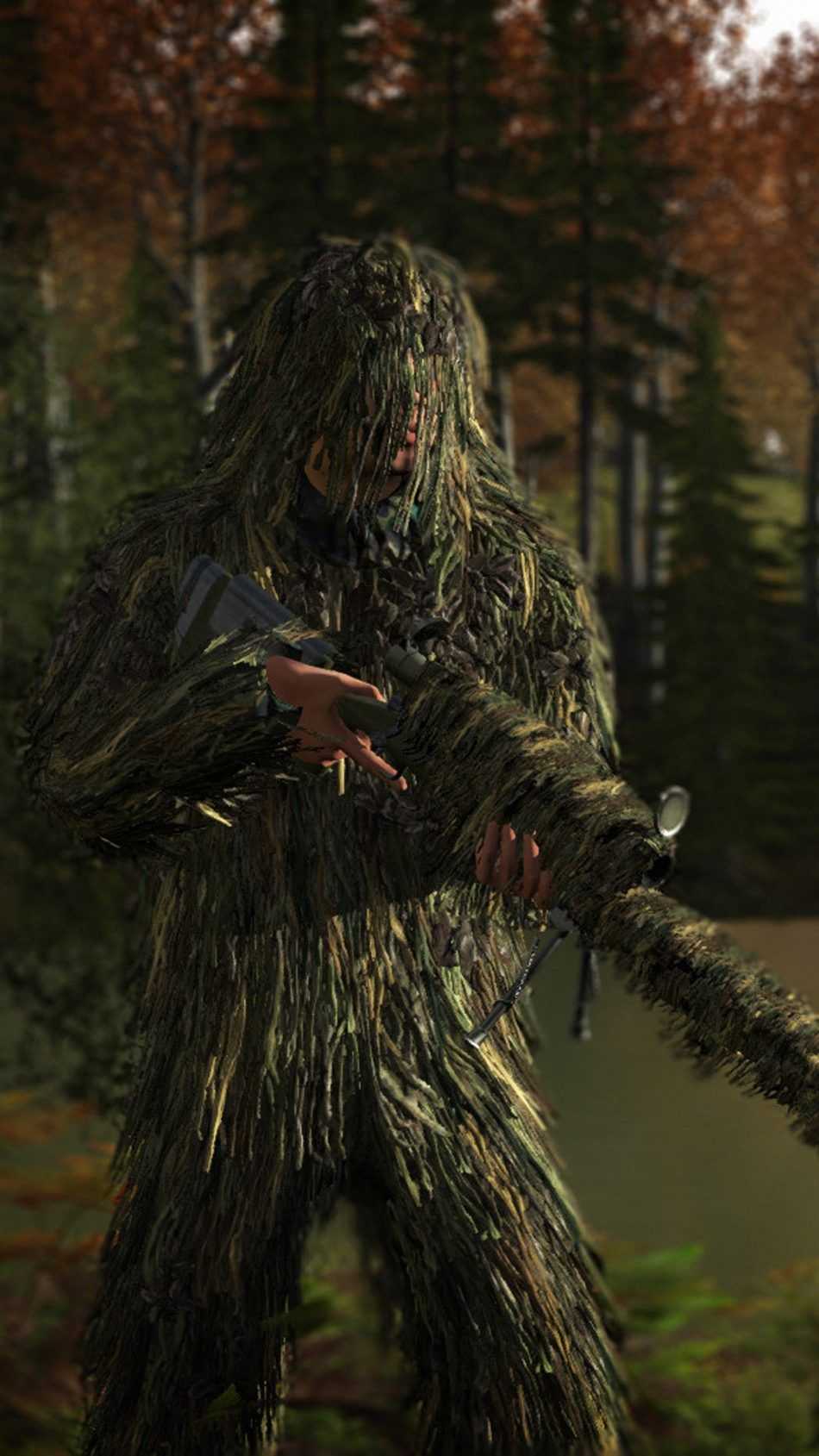 Ghillie Suit Playerunknowns Battlegrounds Pubg Pictures