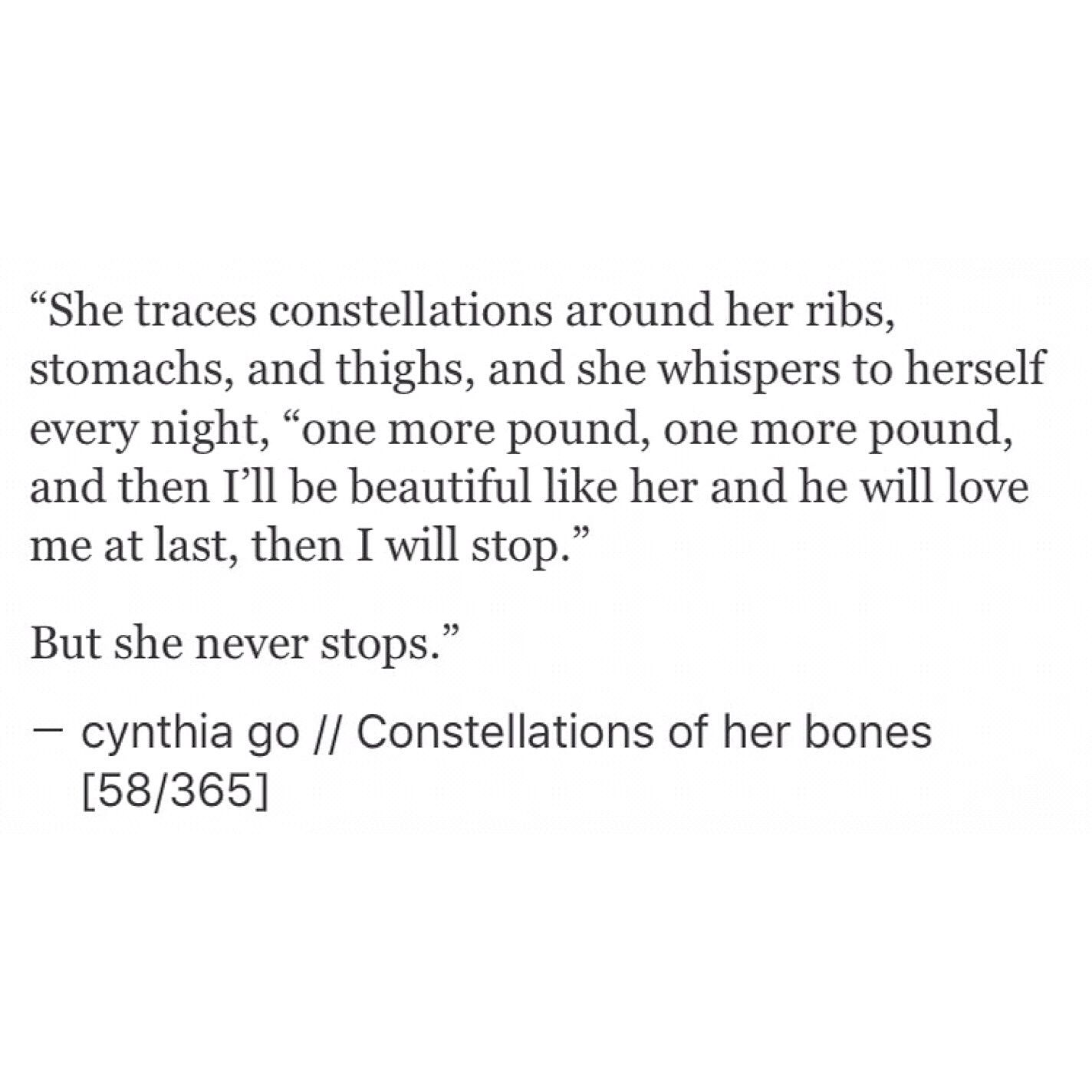 Saying Quotes About Sadness: Constellations Of Her Bones