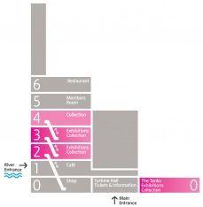 Tate Modern Floor Plan 이미지 포함 디자인