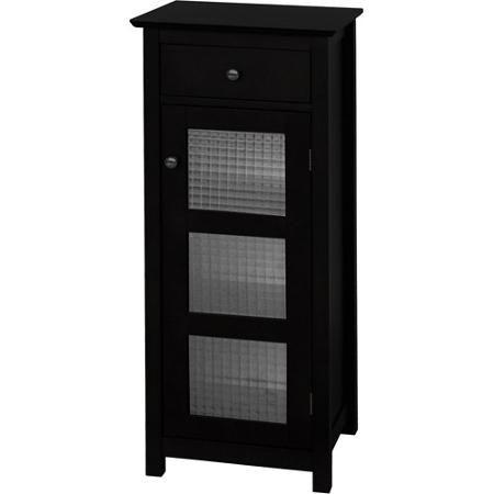 Torino Floor Cabinet With Door And Drawer Espresso Walmart Com Cabinet Doors Bathroom Floor Cabinets Cabinet Drawers
