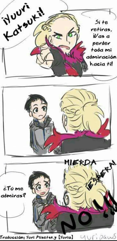 Cómics Yuri On Ice ♡